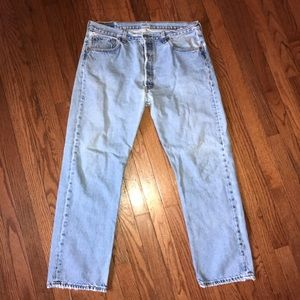 Well Loved Vintage Levi's 501 Made In USA 36x30